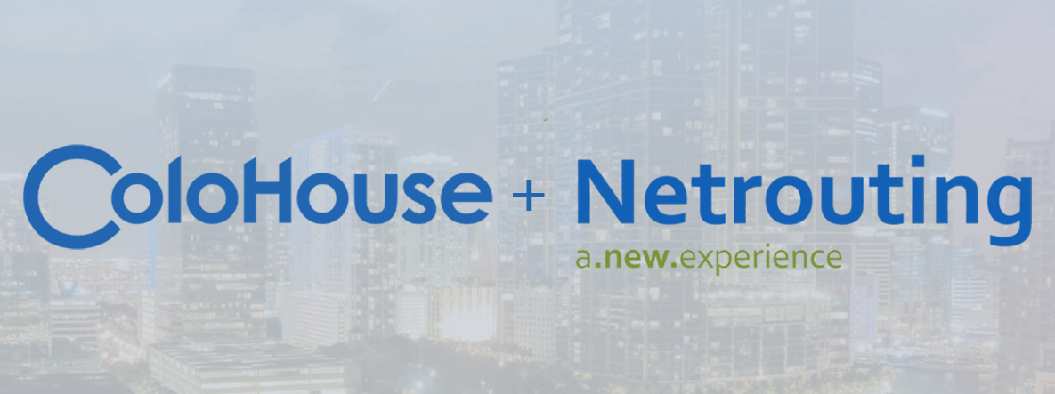 Afbeelding aankondiging acquisitie ColoHouse + Netrouting a new experience