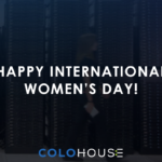 Blog header with capation Happy International Women's Day