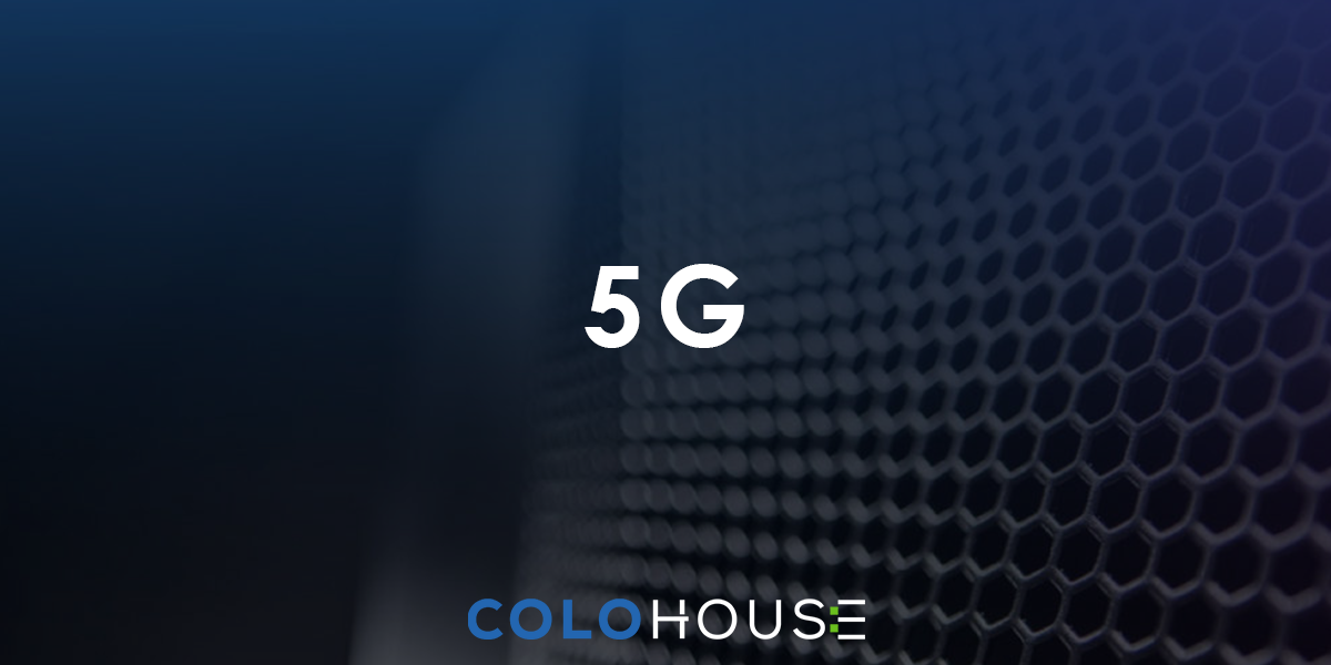 Blog header with 5G